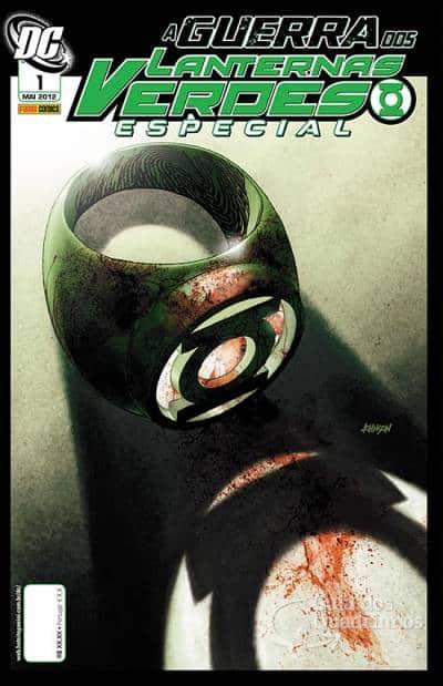 O Lanterna Verde de Geoff Johns - Guia de Leitura 137