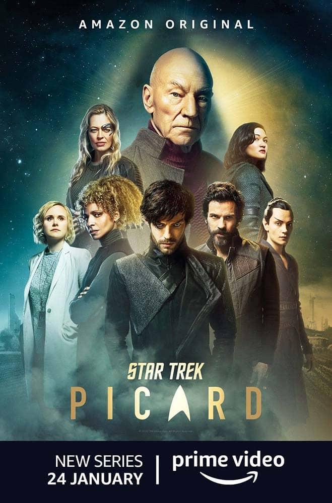Personagens da série Star Trek: Picard ou Jornada nas Estrelas: Picard, da Amazon Prime Video