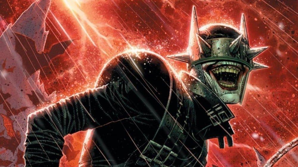 um dos vilões da liga da justiça chamado Batman que Ri
