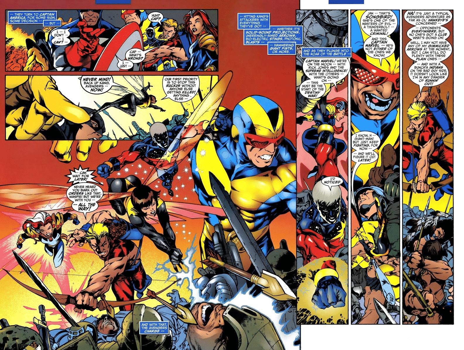 Sagas e HQs DC e Marvel com Viagem no Tempo! 10