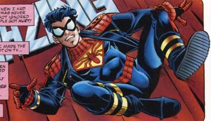 Spider-Boy mistura o Homem-Aranha com o Superboy em Amálgama