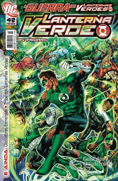 O Lanterna Verde de Geoff Johns - Guia de Leitura 187