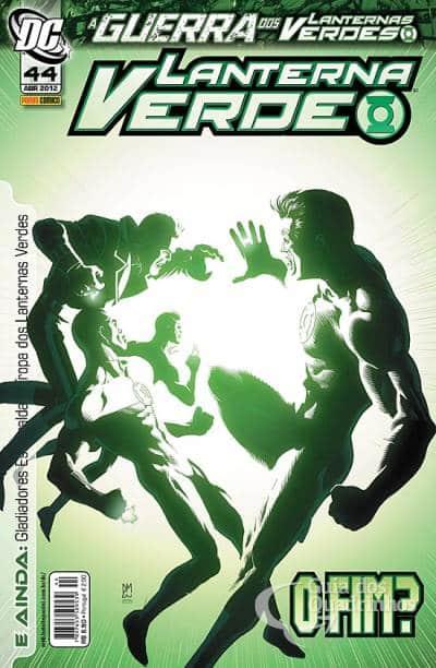 O Lanterna Verde de Geoff Johns - Guia de Leitura 189