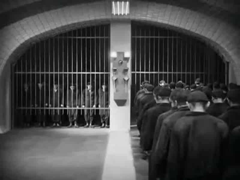 Cena do filme Metropolis de Fritz Lang