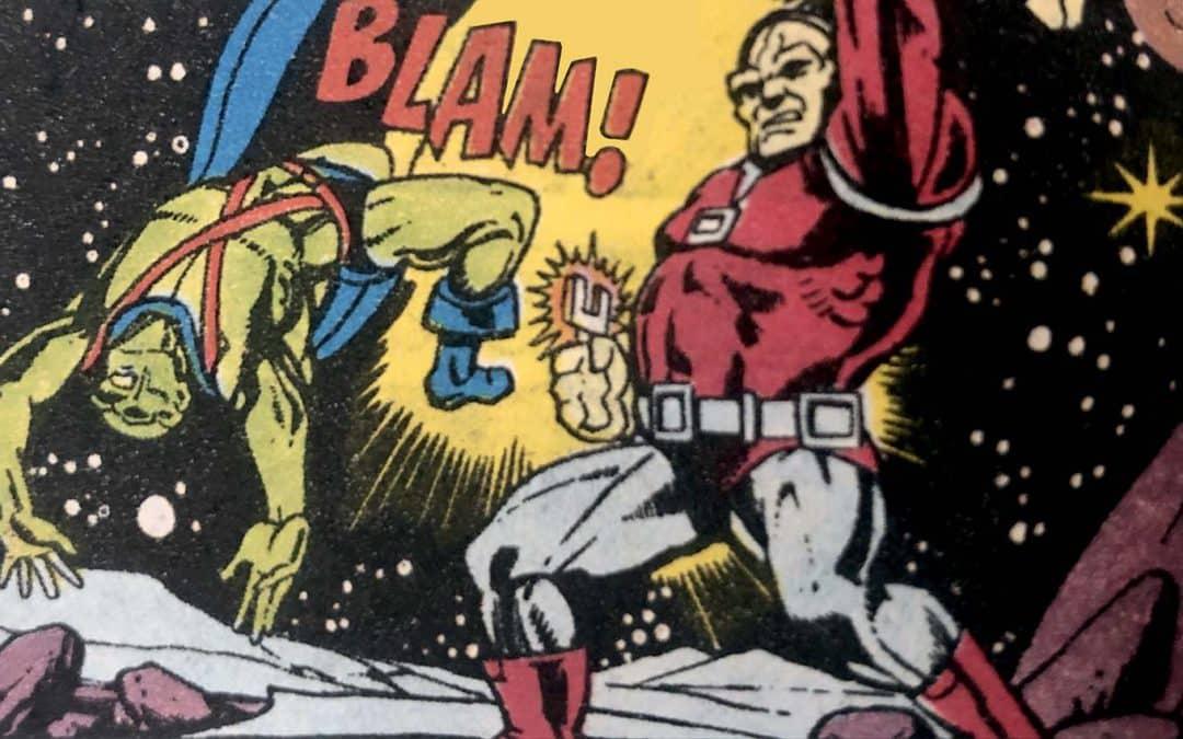A Primeira aparição de Mongul 1980 – Baú de HQs