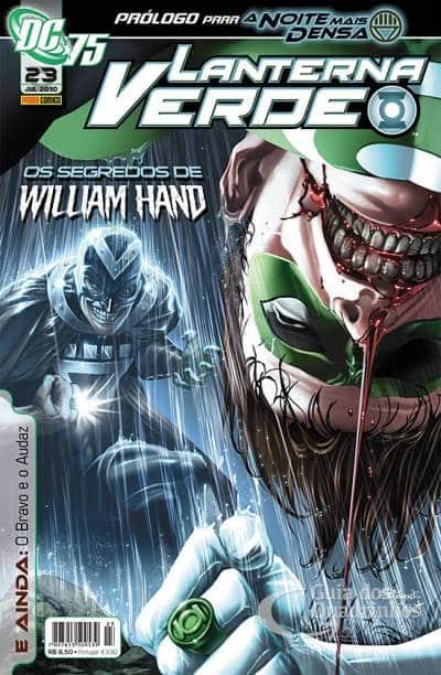 O Lanterna Verde de Geoff Johns - Guia de Leitura 115