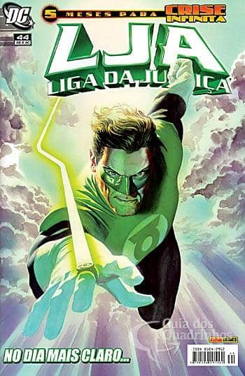 O Lanterna Verde de Geoff Johns - Guia de Leitura 47