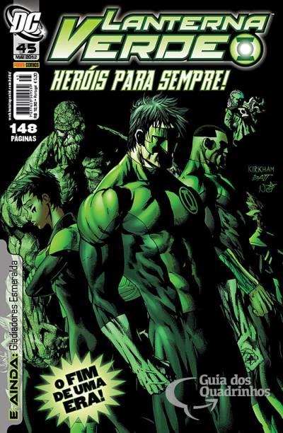 O Lanterna Verde de Geoff Johns - Guia de Leitura 191