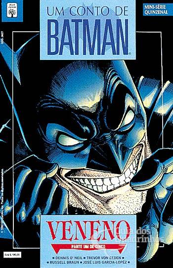 Capa de Batman Veneno da Abril 1