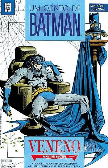 Capa de Batman Veneno da Abril 3