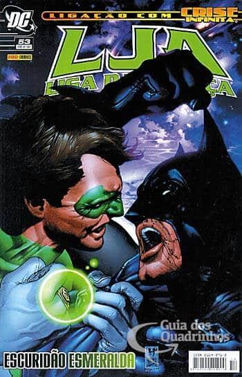 O Lanterna Verde de Geoff Johns - Guia de Leitura 59