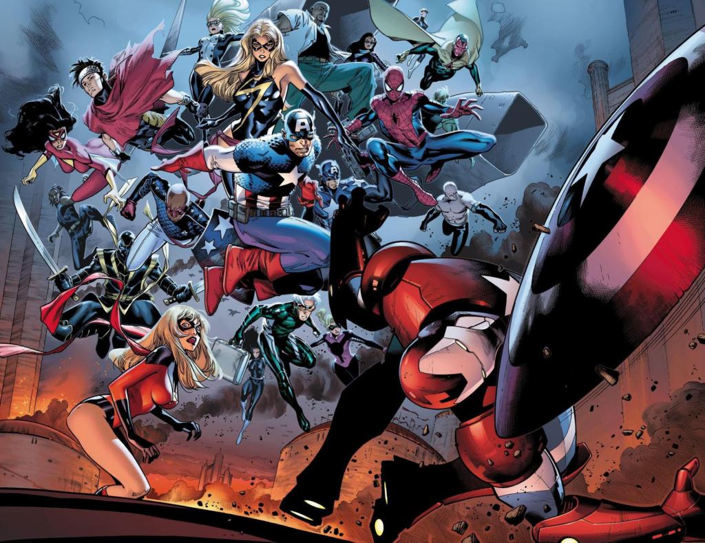 As 9 Melhores Histórias dos Vingadores 1