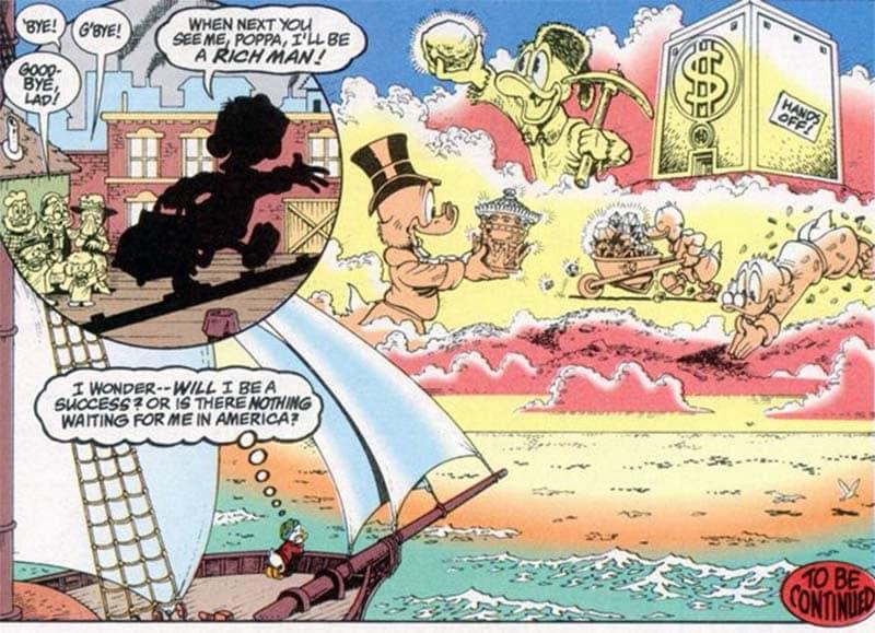 A Saga do Tio Patinhas de Don Rosa - Baú de HQs 1