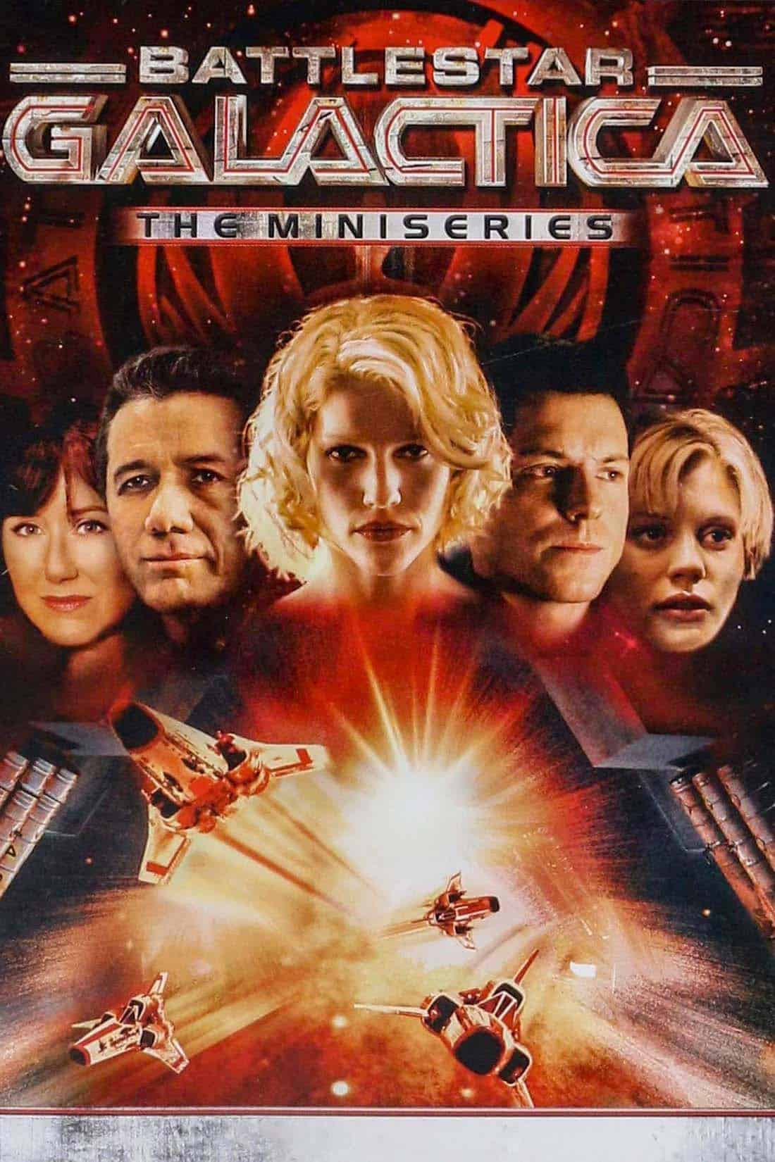 Poster de Battlestar Galactica Minisserie