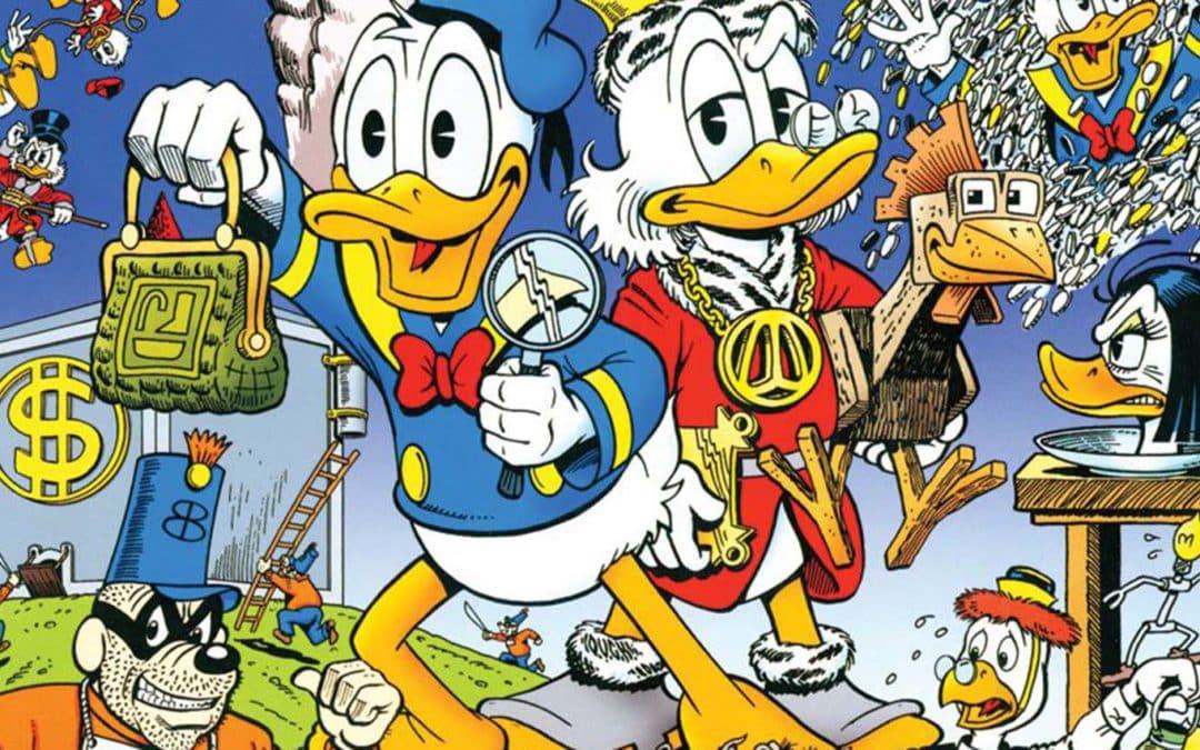 A Biblioteca Don Rosa Tio Patinhas e Pato Donald – Guia de Leitura