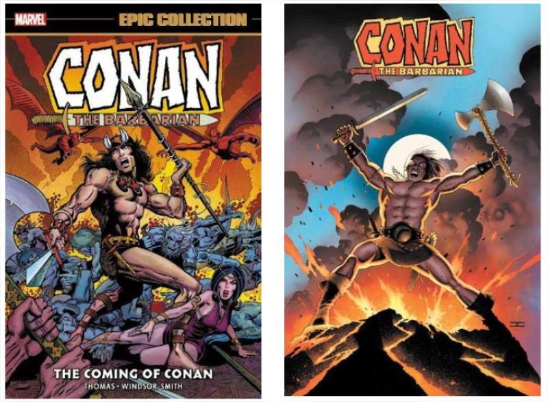Nova coleção de Conan – o Bárbaro sendo lançada pela Panini