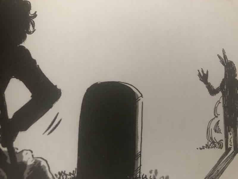 Conheça a HQ Faroeste de Terror Gibi de Menininha