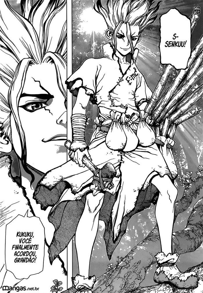 Dr Stone Ultimato do Bacon manga