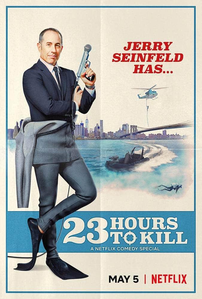 Seinfeld 23 horas para matar poster