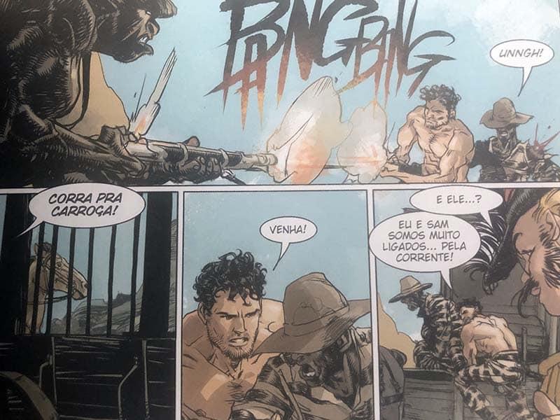 Tex Graphic Novel #2: Tex Frontera - O Ultimato 2