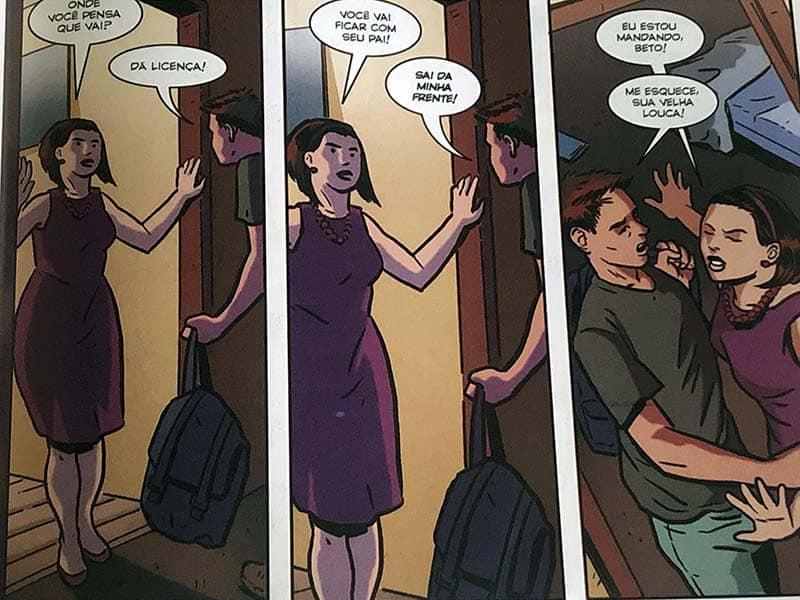 Beto e sua mãe em Um Outro Dia de Felipe Folgosi