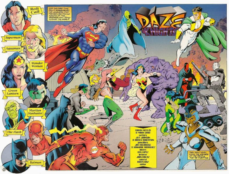 melhores histórias da liga da justiça - Pesadelos de Uma Noite de Verão