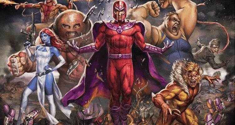 5 maiores vilões dos X-Men