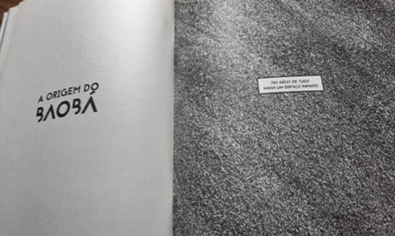 Origem do Baoba, segunda HQ de Contos de Grio