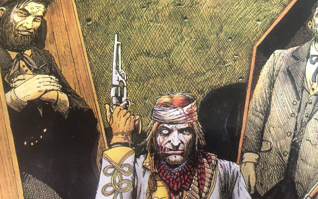 Jonah Hex Pistoleiro do Além (1993) – Baú de HQs