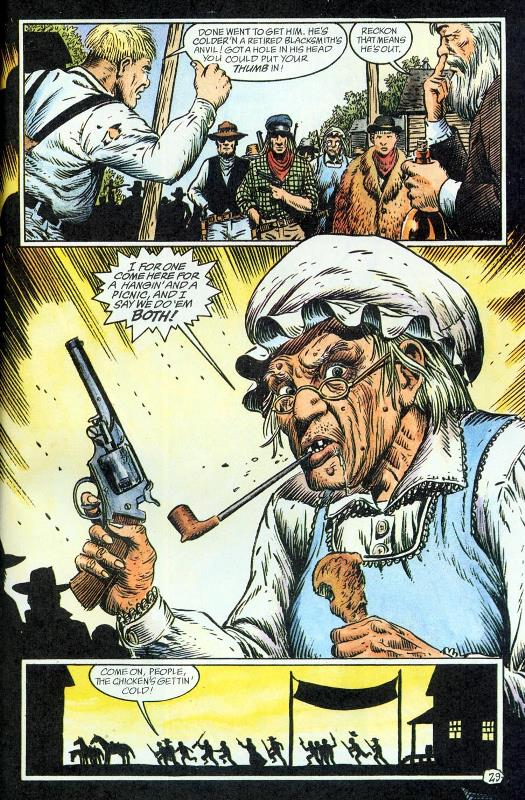 Jonah Hex Pistoleiro do Além (1993) - Baú de HQs