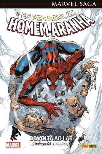Marvel Saga O Espetacular Homem Aranha - De volta ao Lar 1