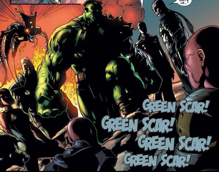 Planeta Hulk de Greg Pak