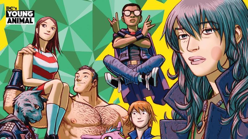 Conheça o Selo Young Animal da DC Comics