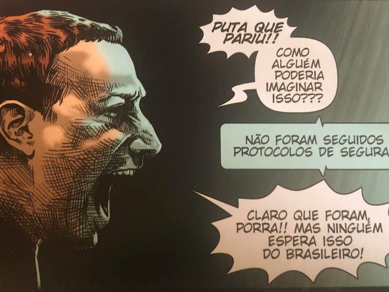 Destro de Luciano Cunha e Michel Gomes