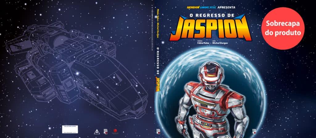 O Regresso de Jaspion - Entra em Pré Venda a Continuação da Série 1