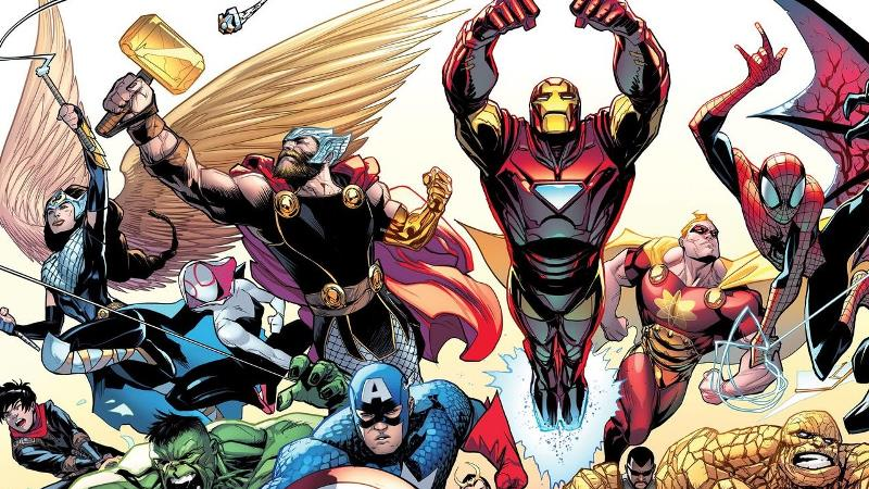 As 60 Melhores HQs da Marvel Comics