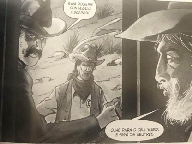 Abutres de Júlio Magah e Eduardo Vetillo