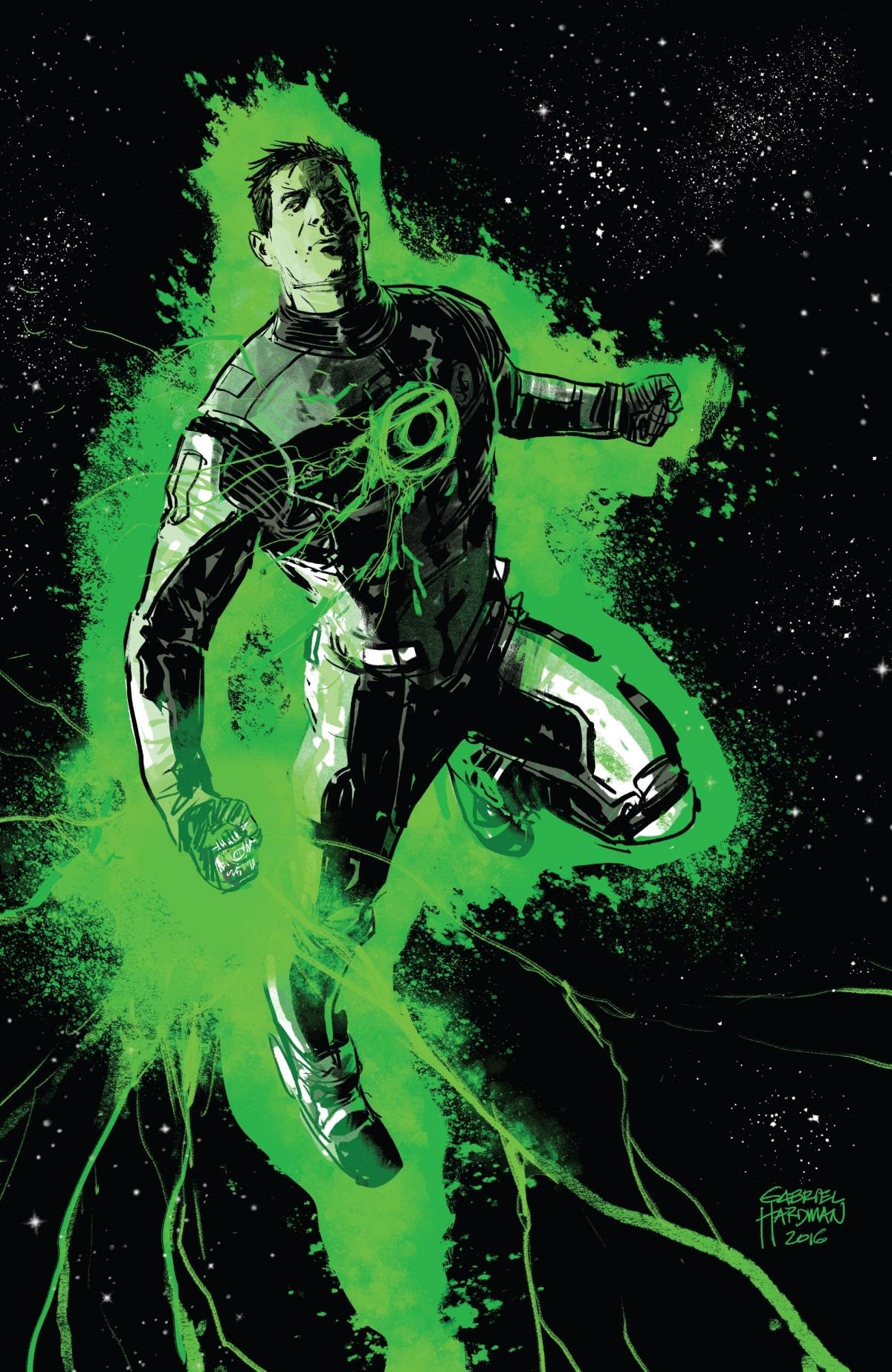 Lanterna Verde Terra Um Hal Jordan