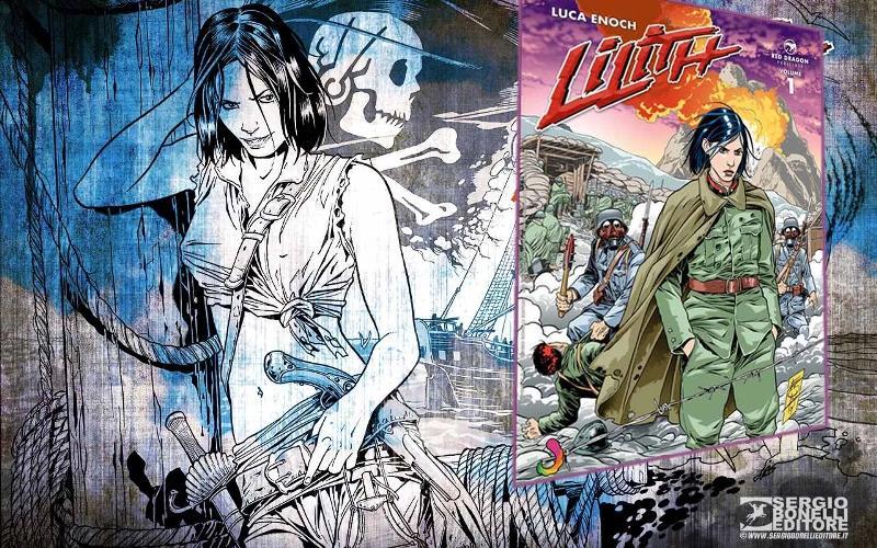 O Universo Sci-Fi de Lilith de Luca Enoch