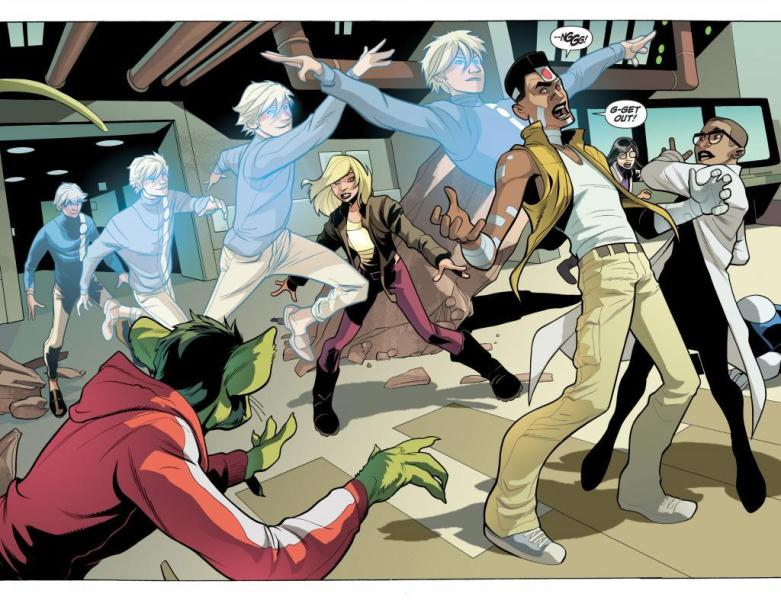 Jovens Titãs Terra Um de Jeff Lemire