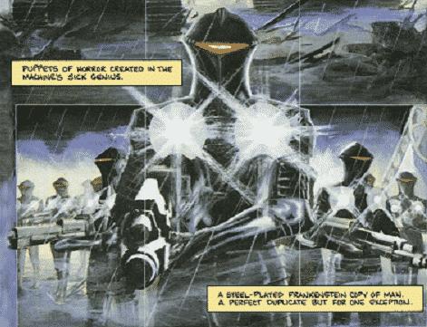 Exterminador do Futuro Terra em Chamas – Baú de HQs 1