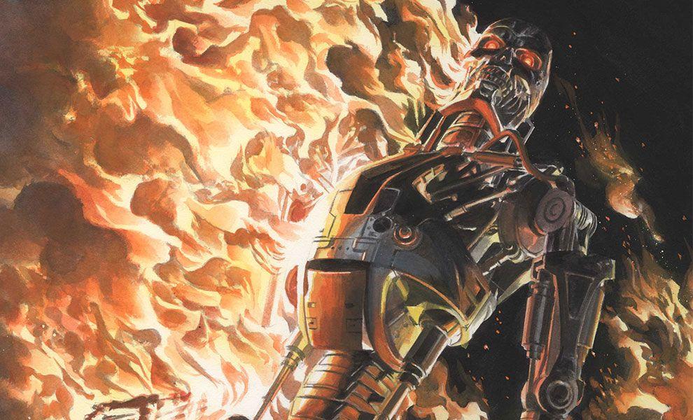 Exterminador do Futuro Terra em Chamas – Baú de HQs