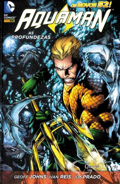 Aquaman de Geoff Johns – Guia de Leitura 1