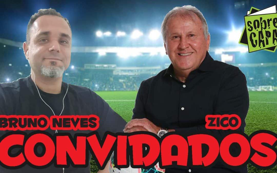 Zico e seus 50 anos de futebol (com Bruno Neves) – Costelinha 087