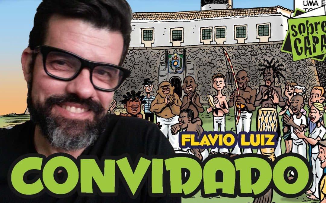 Flavio Luiz e suas HQs – Au, O Cabra, Agente Sommos – Costelinha 088
