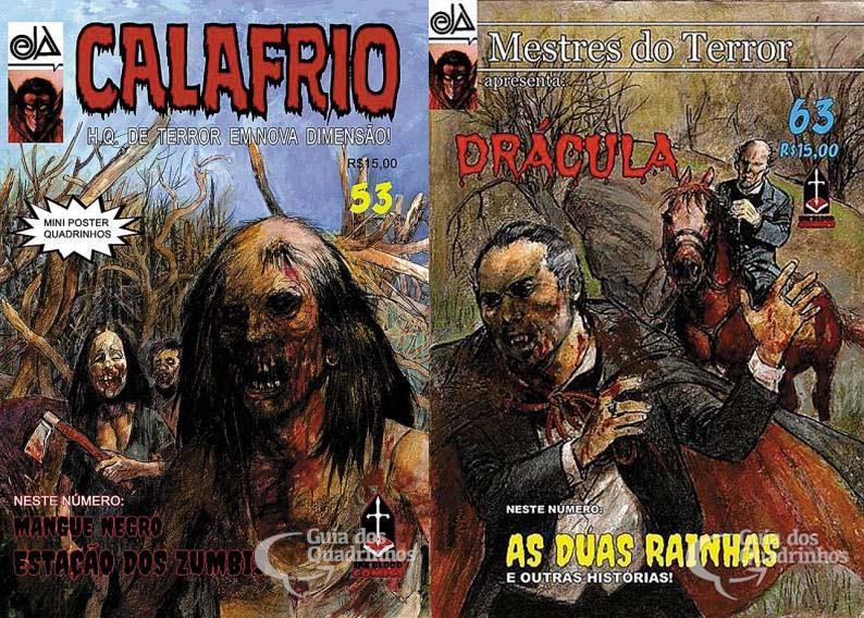 Calafrio e Mestres do Terror (1981-2021) – Matéria Especial
