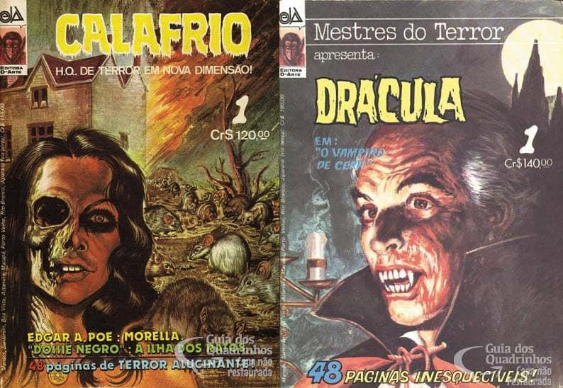 Calafrio e Mestres do Terror 1