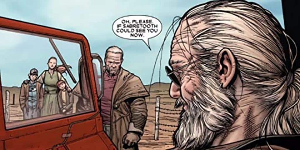 Velho Logan de Mark Millar