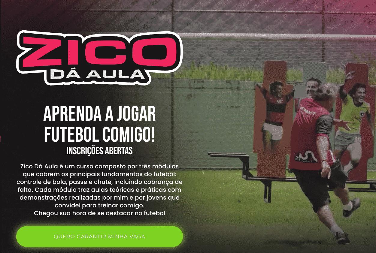 Zico 50 anos de futebol em quadrinhos - Zico cobra falta