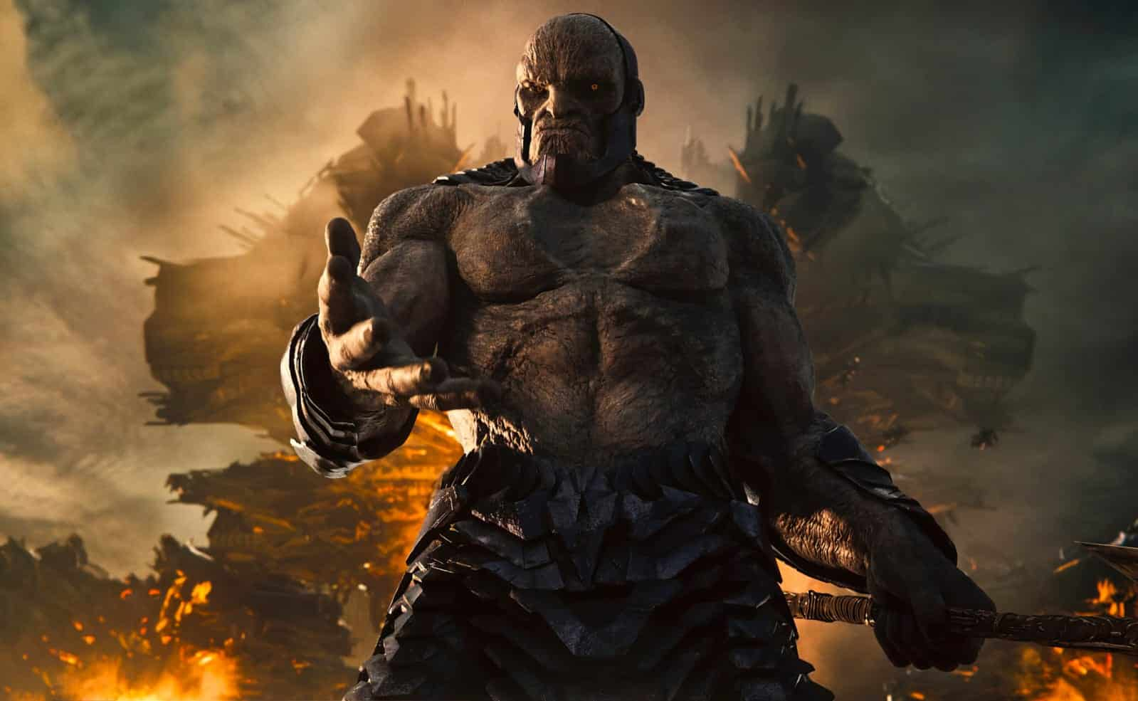 darkseid faz sua estreia na liga da justiça de zack snyder